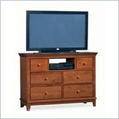 American Drew Sterling Pointe Fully Assembled TV Stand in Cherry Finish