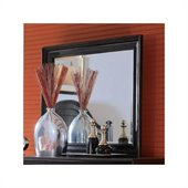 American Drew Camden Black Collection Landscape Mirror