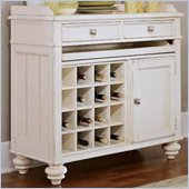 American Drew Camden Server in Buttermilk Finish