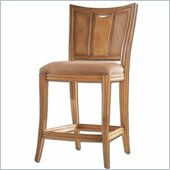 American Drew Antigua Collection Bar Stool in Toasted Almond Finish