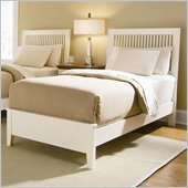 American Drew Sterling Pointe Off-White Wood Slat Bed 3 Piece Bedroom Set