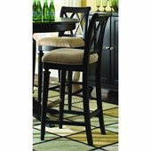 American Drew Camden Black Bar Height Bar Stool