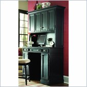 American Drew Camden Black Complete Home Work Station with Deck