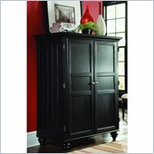 American Drew Camden Black Home Office Cabinet