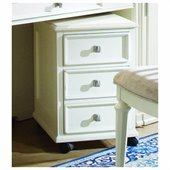 American Drew Camden Mobile 2 Drawer Lateral Wood File Cabinet in Buttermilk