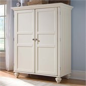 American Drew Camden Home Office Cabinet in Buttermilk