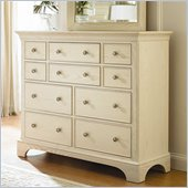 American Drew Ashby Park 10 Drawer Double Dresser/Media Chest