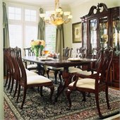 American Drew Cherry Grove Rectangular Casual Dining Set in Antique Cherry Finish