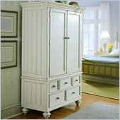 American Drew Camden TV/Wardrobe Armoire in Buttermilk