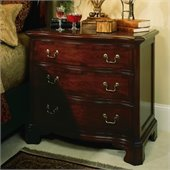American Drew Cherry Grove 3 Drawer Single Dresser in Medium Cherry Finish