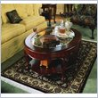 ADD TO YOUR SET: American Drew Cherry Grove Oval Glass Top Coffee Table