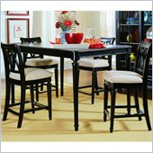 American Drew Camden Gathering Table in Black Finish