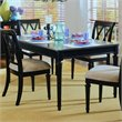 ADD TO YOUR SET: American Drew Camden Leg Formal Dining Table in Black Finish