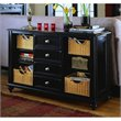 ADD TO YOUR SET: American Drew Camden Black Console Table