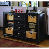 American Drew Camden Black Console Table