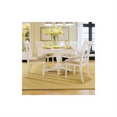American Drew Camden  Round Casual Dining Table in Buttermilk