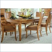 American Drew Antigua Leg Casual Dining Table in Toasted Almond Finish