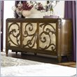 ADD TO YOUR SET: American Drew Jessica McClintock Couture Stone Top Buffet in Mink Finish