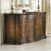 American Drew Jessica McClintock Couture Credenza in Mink Finish