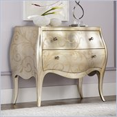American Drew Jessica McClintock Couture Accent Chest in Silver Leaf