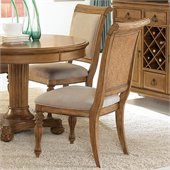 American Drew Grand Isle Side Chair in Amber Finish