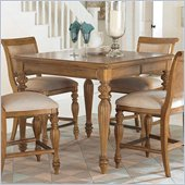 American Drew Grand Isle Counter Height Dining Table in Amber Finish