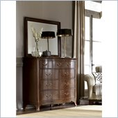 American Drew Cherry Grove Mirror in Mid Tone Brown