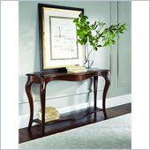 American Drew Cherry Grove Sofa Table in Mid Tone Brown