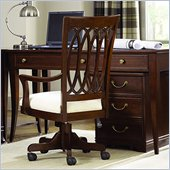American Drew Cherry Grove Desk Chair in Mid Tone Brown