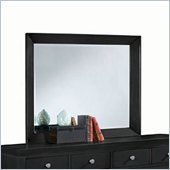 American Drew Sterling Pointe Landscape Mirror in Black