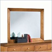 American Drew Sterling Pointe Landscape Mirror in Maple