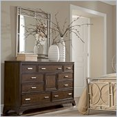 American Drew Essex Triple Dresser in Mink
