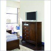 American Drew Essex Media Accent Chest in Mink