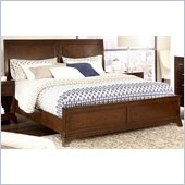 American Drew Essex Low Profile King Sleigh Bed in Mink