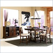 American Drew Essex Gathering Table in Mink