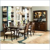American Drew Essex Dining Table in Mink