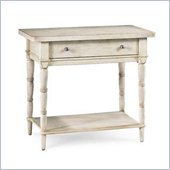 American Drew Americana Home Leg Nightstand in Weathered White