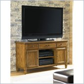 American Drew Americana Home Entertainment Unit in Warm Khaki Oak