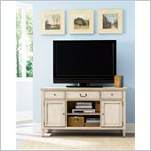American Drew Americana Home Entertainment Unit in Weathered White
