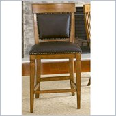 American Drew Americana Home Counter Height Chair in Warm Khaki Oak