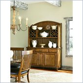 American Drew Americana Home Buffet in Warm Khaki Oak