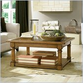 American Drew Americana Home Cocktail Table in Warm Khaki Oak