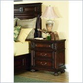 American Drew Barrington House Nightstand in Heirloom Cherry