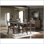 American Drew Barrington House Gathering Table in Heirloom Cherry