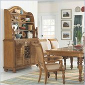 American Drew Grand Isle Buffet Hutch in Amber