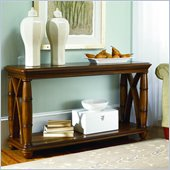 American Drew Grand Isle Sofa Table in Amber