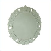 American Drew Jessica McClintock Round Venetian Mirror