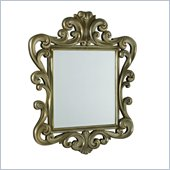 American Drew Jessica McClintock Silver Leaf Accent Mirror
