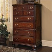 American Drew Cherry Grove 9 Drawer Chest in Antique Cherry Finish