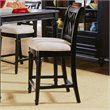 ADD TO YOUR SET: American Drew Camden 25 Inch Splat Back Bar Stool in Black Finish